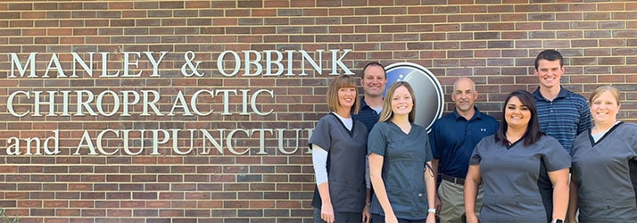 Chiropractor Sioux City IA Marc Obbink with Staff